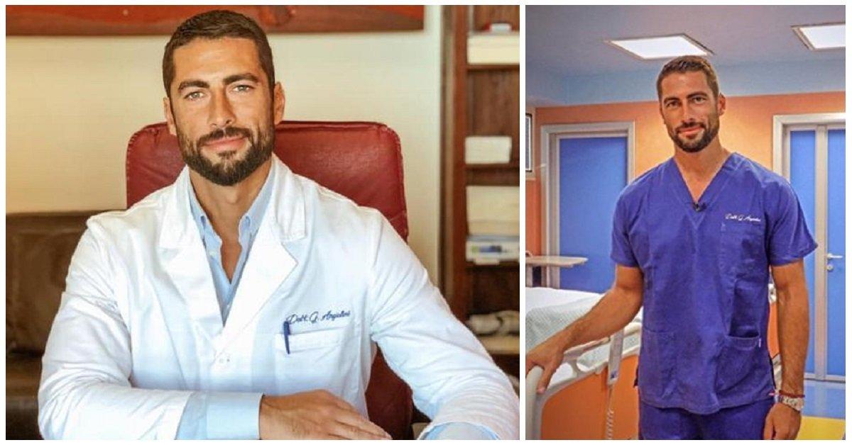 Chi è Giovanni Angiolini, il medico più bello d'Italia?