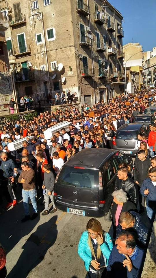 funerali a Palermo