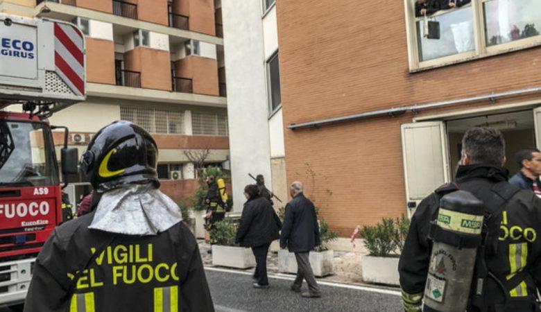 incendio-ospedale-Roma