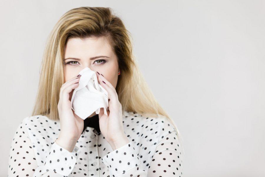 sintomi del raffreddore e dell'influenza