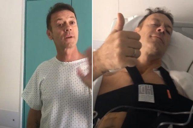 Rocco Siffredi operato e ricoverato in ospedale. Ecco cosa gli è successo
