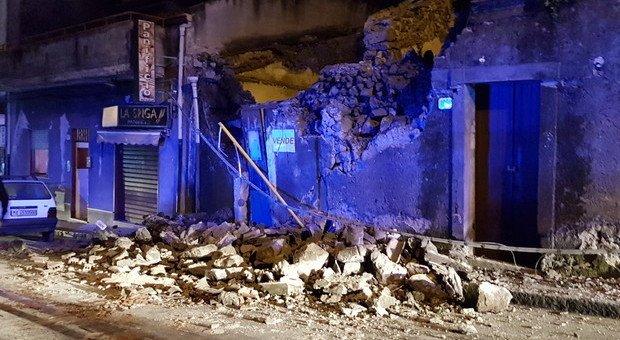 Terremoto 4.8 a Catania: feriti e crolli