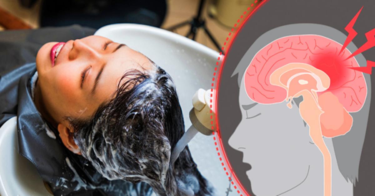 Lavarsi i capelli dal parrucchiere potrebbe mettere a rischio la tua vita