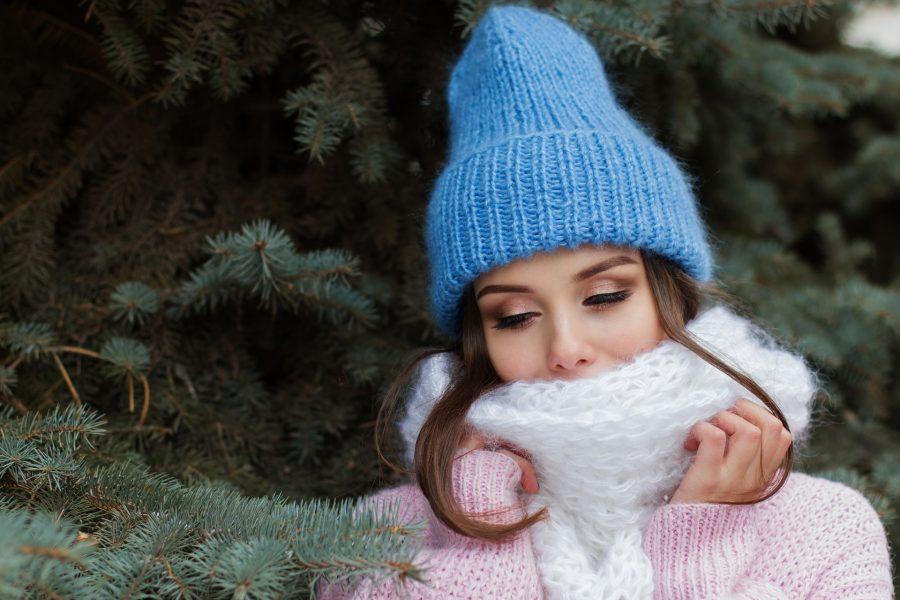 pelle in inverno