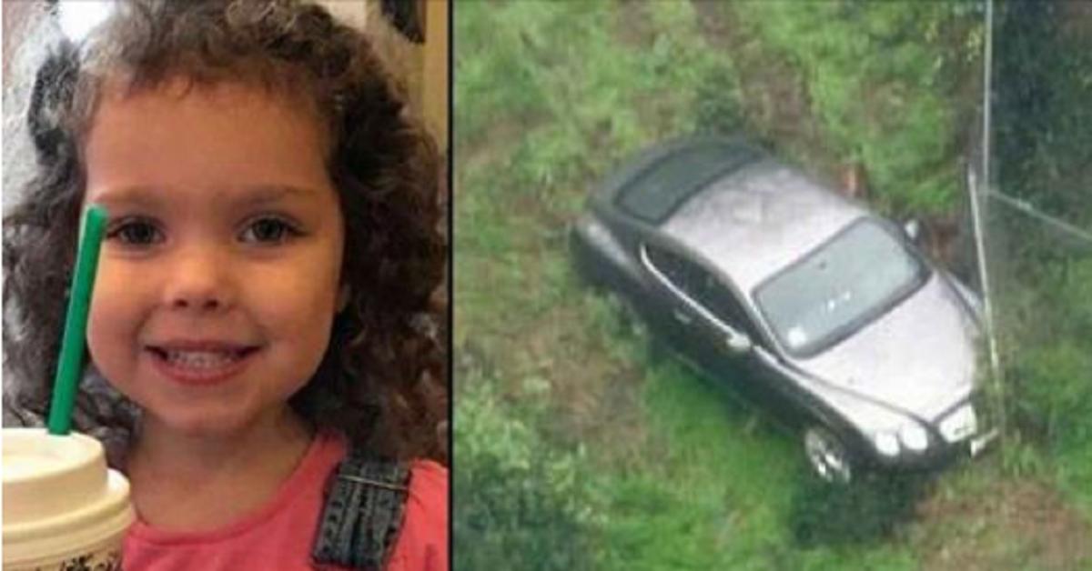 La polizia trova una bambina di 4 anni scomparsa nella foresta.