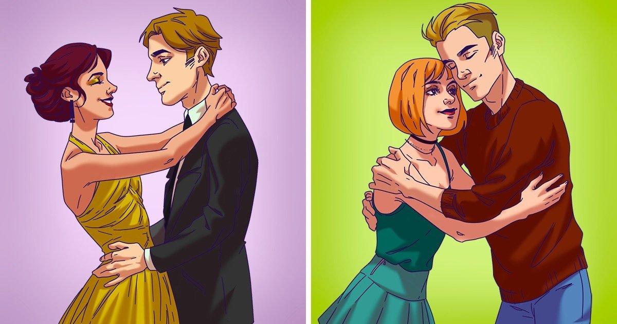 9 tipi di abbracci che rivelano il tipo di relazione