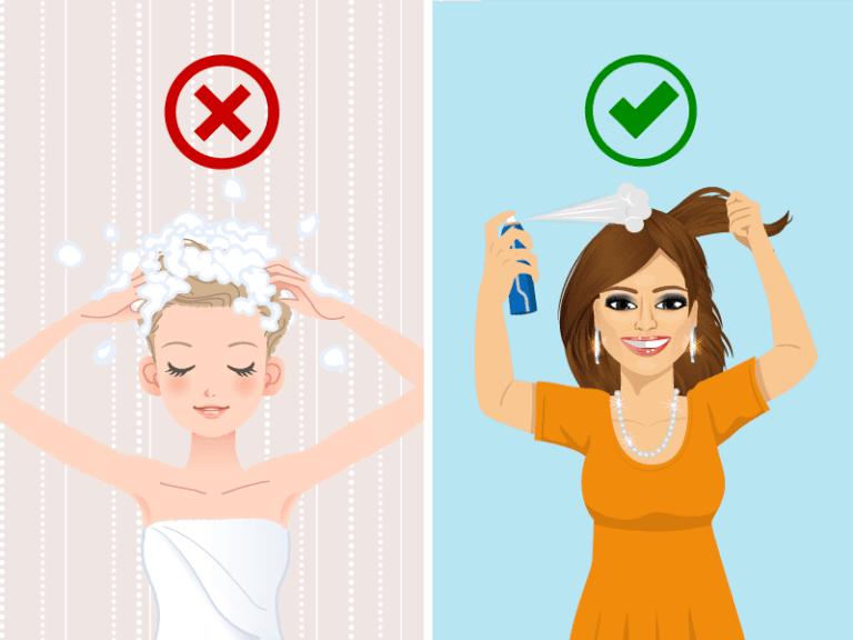 9 consigli per evitare di lavare i capelli ogni giorno