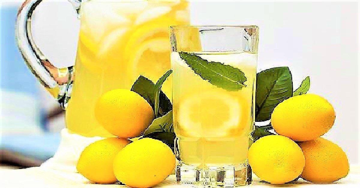i-benefici-dellacqua-al-limone