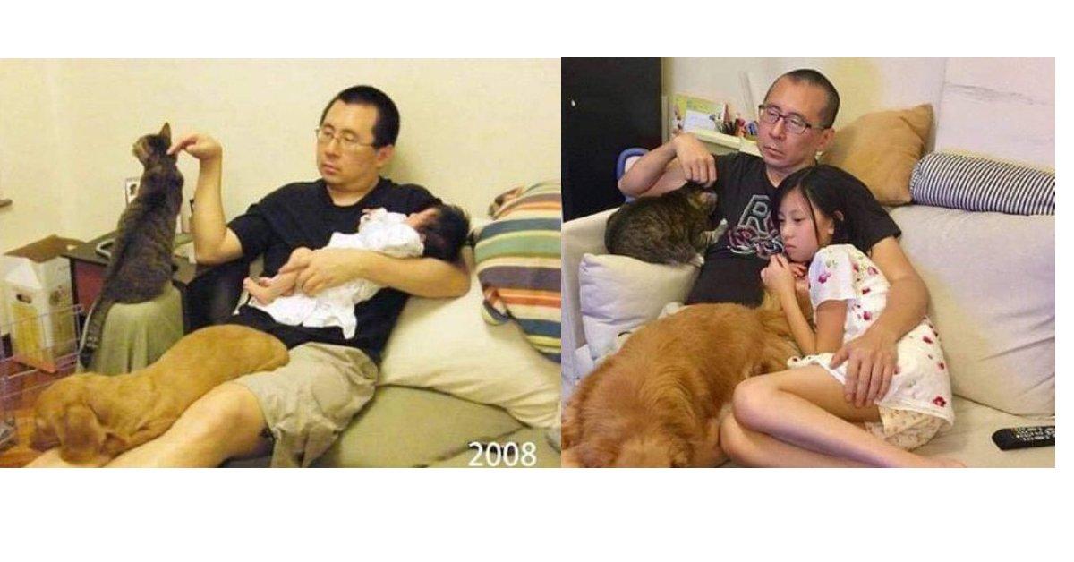 17 foto prima e dopo che mostrano il potere del tempo
