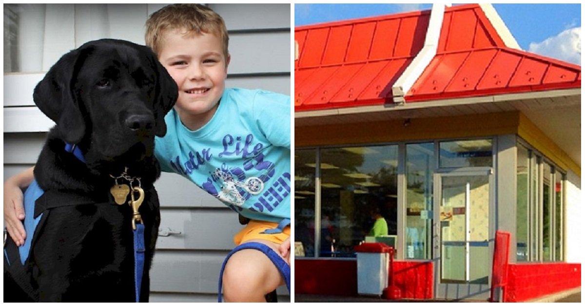 noto-fast-food-non-fa-entrare-un-bambino-autistico-con-il-suo-cane