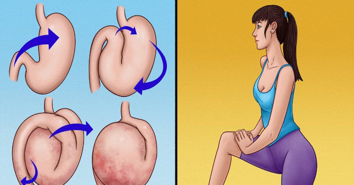 Come sgonfiare lo stomaco