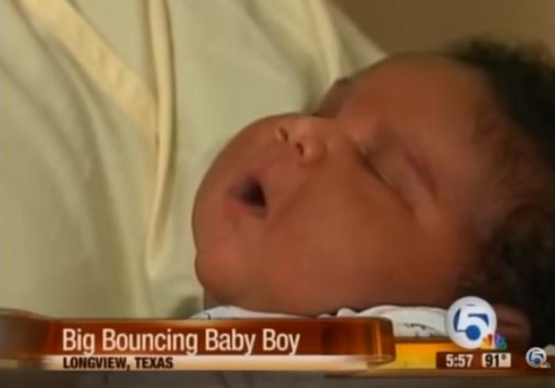 Dà alla luce bambino di più di 7 chilogrammi. Ecco perché può accadere