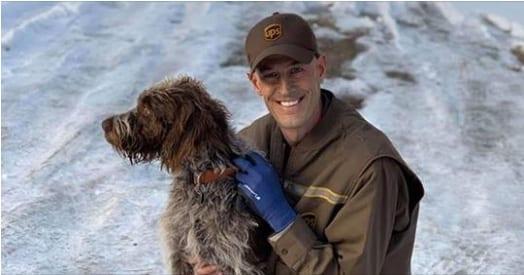 Ryan-l'autista-che-ha-salvato-il-cane-intrappolato-nel-lago-ghiacciato 2