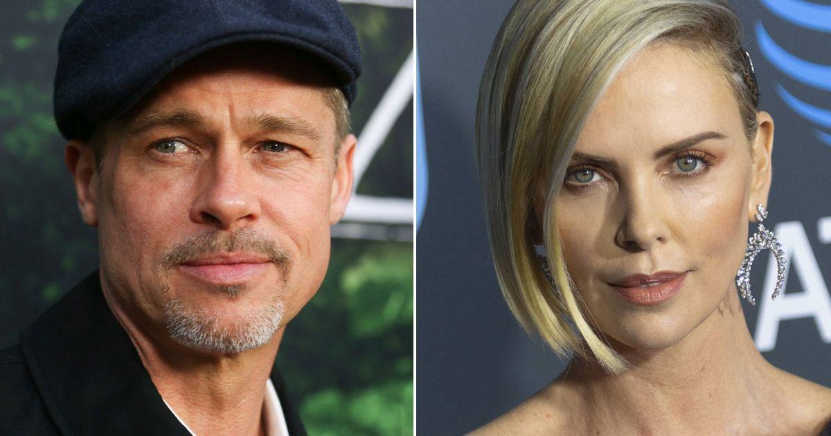Brad Pitt e Charlize Theron è amore?