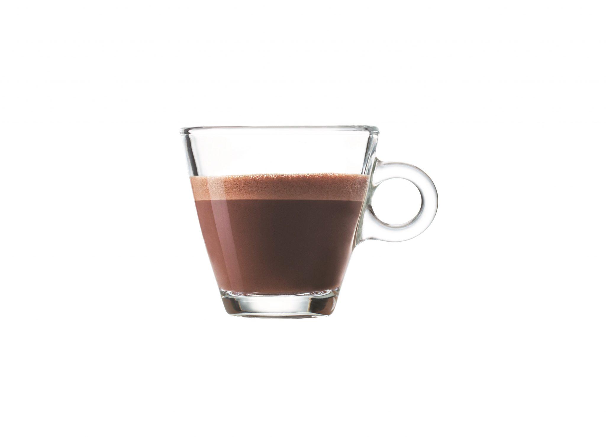 Bevanda al cacao e acqua VS caffè