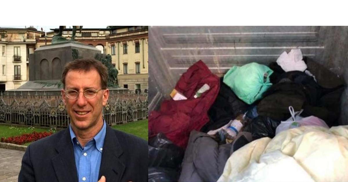 Ha gettato la coperta del clochard, vicesindaco di Trieste sarà multato