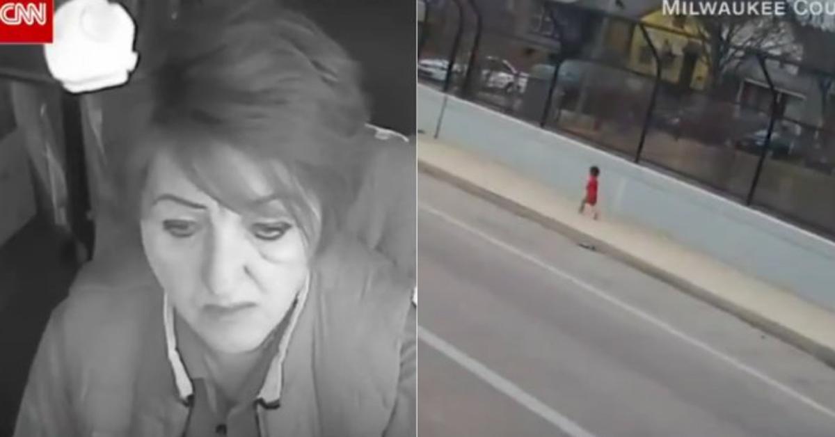 Madre lascia bimbo di 1 anno fuori casa, salvato dall'autista di un bus