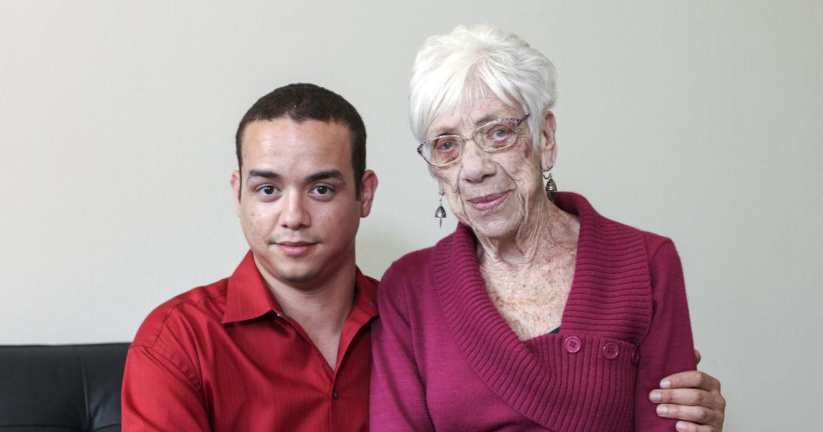 Una 'strana' storia d'amore: lui 31, lei 91 anni