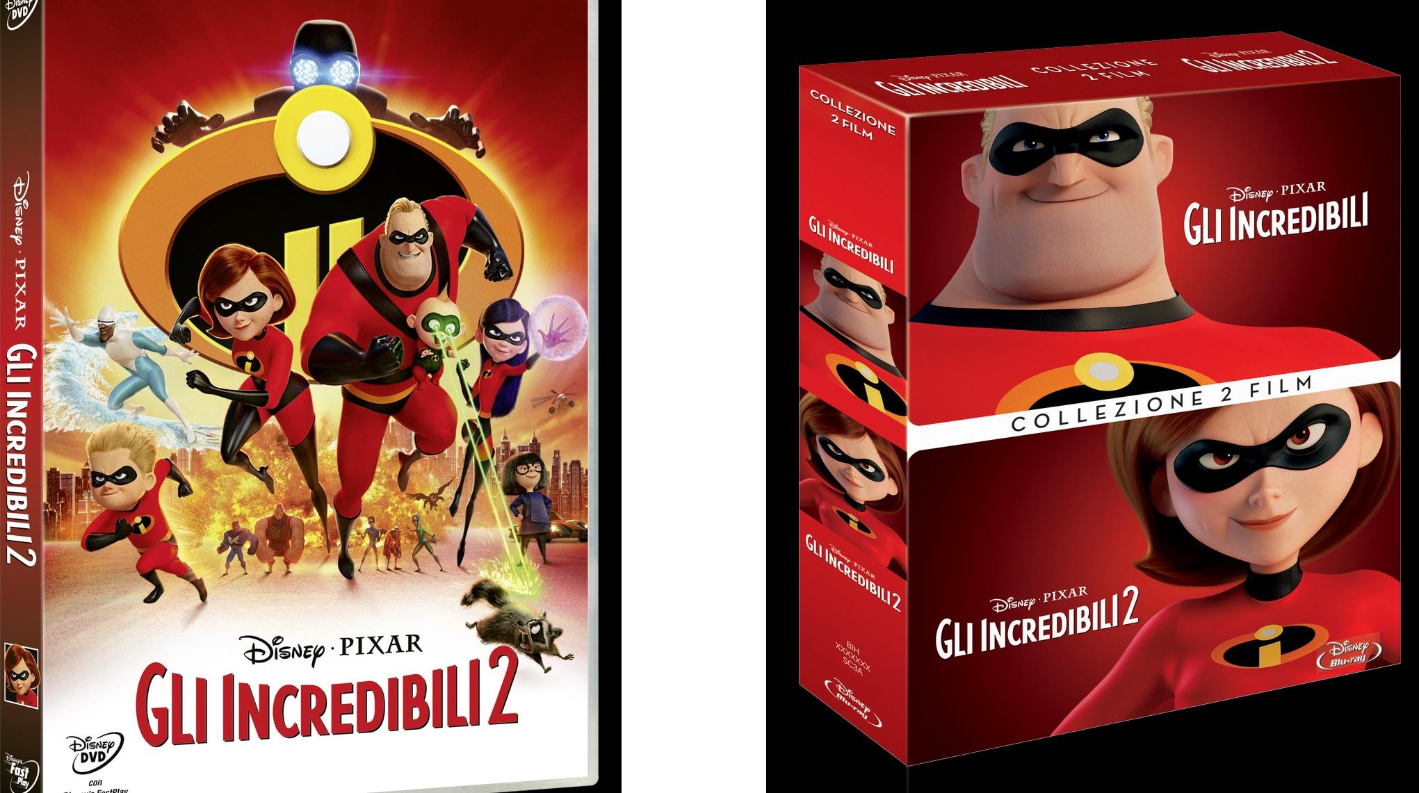 gli incredibili 2 uscita dvd in italia