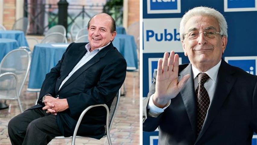 Lite in diretta ai Fatti Vostri tra Giancarlo Magalli e Michele Guardì