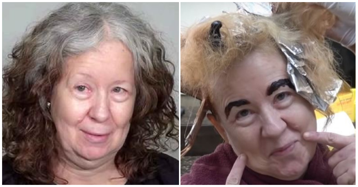Mamma di 60 anni subisce una trasformazione straordinaria e stenta a riconoscersi