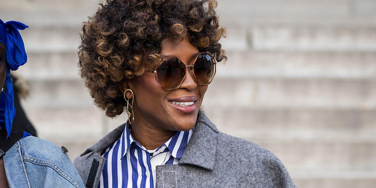 Tendenze capelli 2019, il riccio di Naomi Campbell