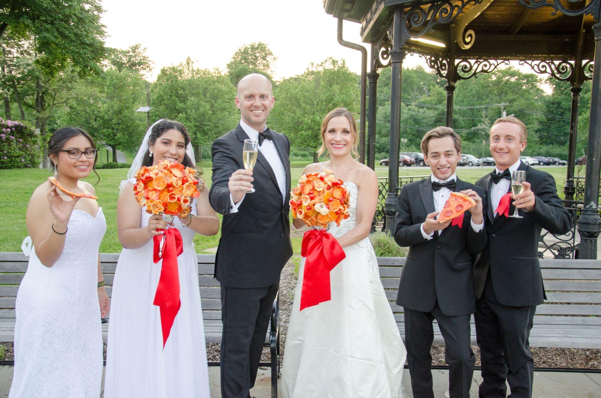 pizza-bouquet-matrimonio