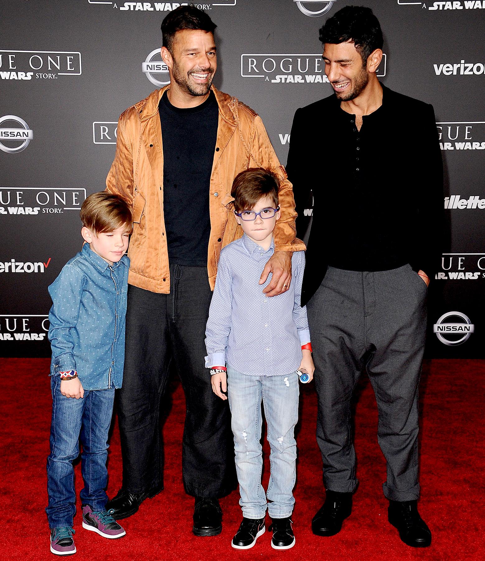 Ricky Martin papà
