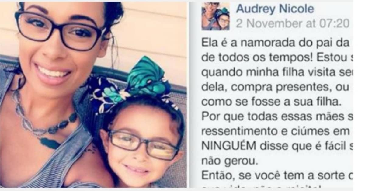 Il-messaggio-molto-commovente-di-Audrey-per-la-fidanzata-del-papà-di-sua-figlia