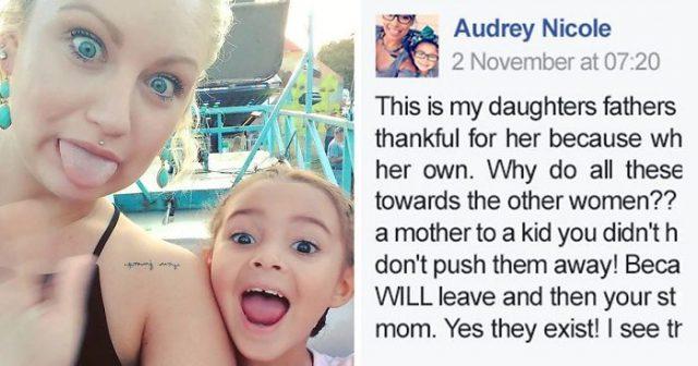 il-messaggio-di Audrey-per-la-matrigna-di-sua-figlia 2
