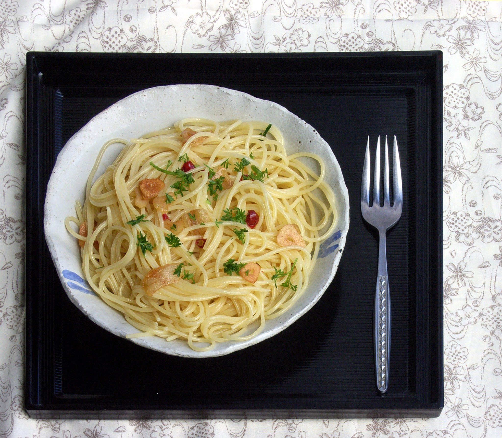 spaghetti-aglio