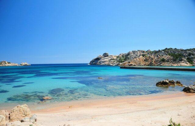 Spiaggia di Cala Spalmatore, La Maddalena (OT) / Sardegna