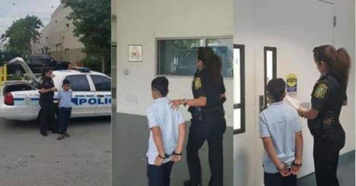 ragazzino-di-sette-anni-viene-arrestato-per-aver-avuto-un-comportamento-aggressivo