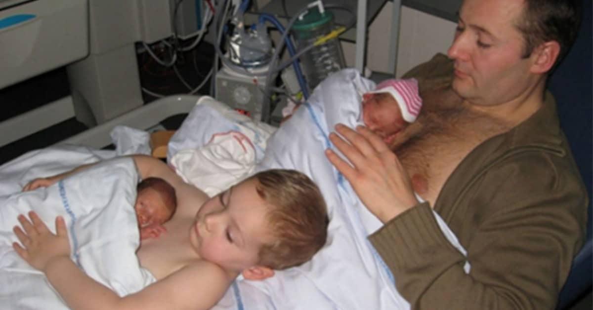 L'importanza del contatto pelle a pelle con i neonati
