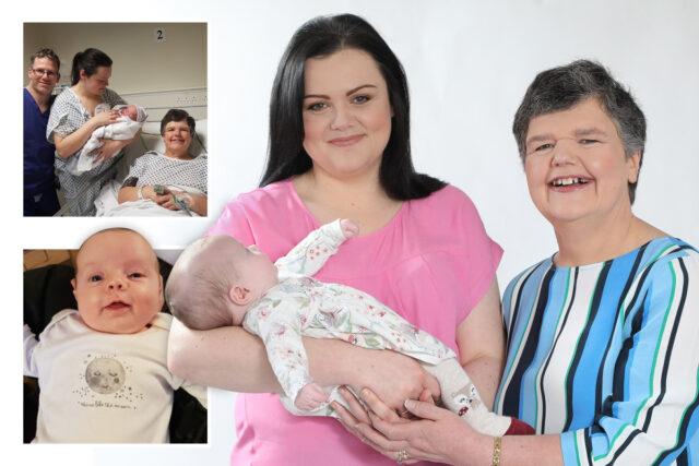 Tracey-riesce-ad-avere-un-figlio-grazie-a-sua-madre