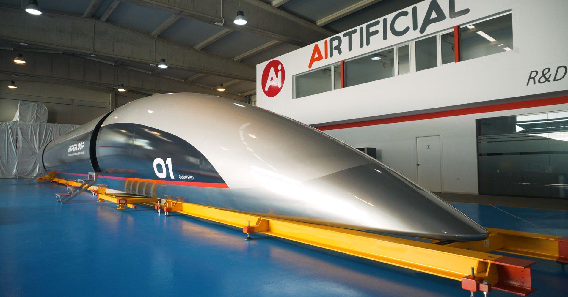 Hyperloop Dubai-Abu Dhabi: il treno a gran velocità attivo dal 2020