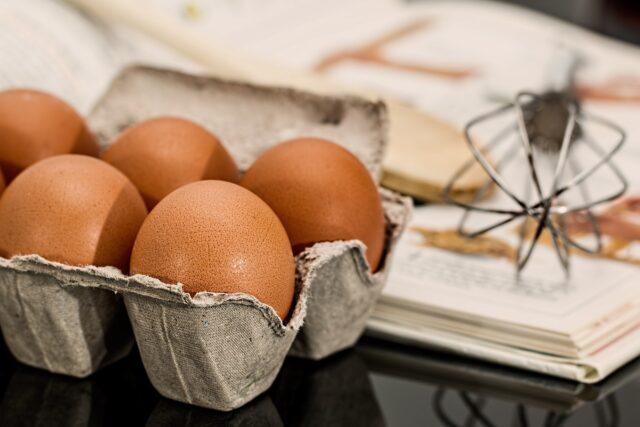 Codice delle uova sul guscio