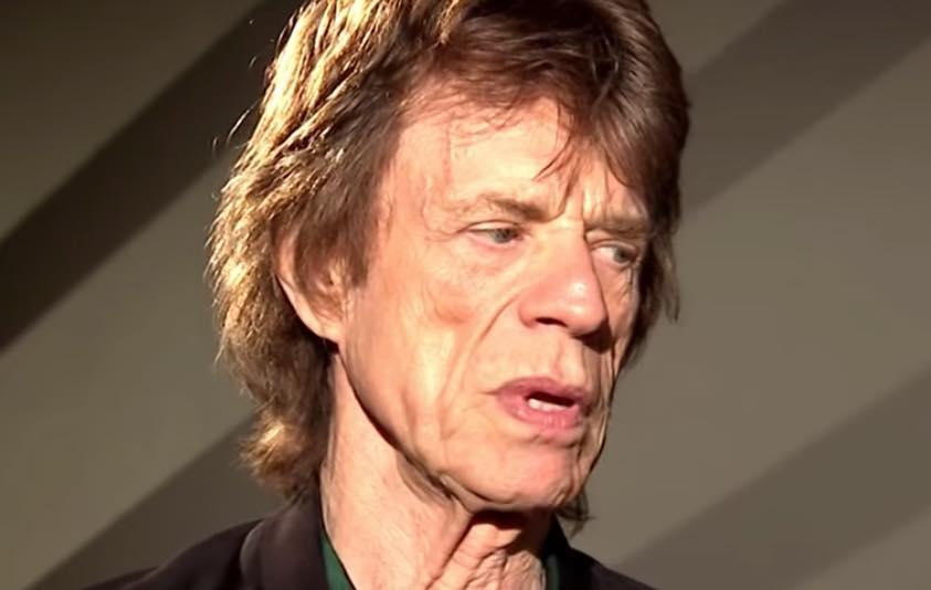 Mick Jagger sta male
