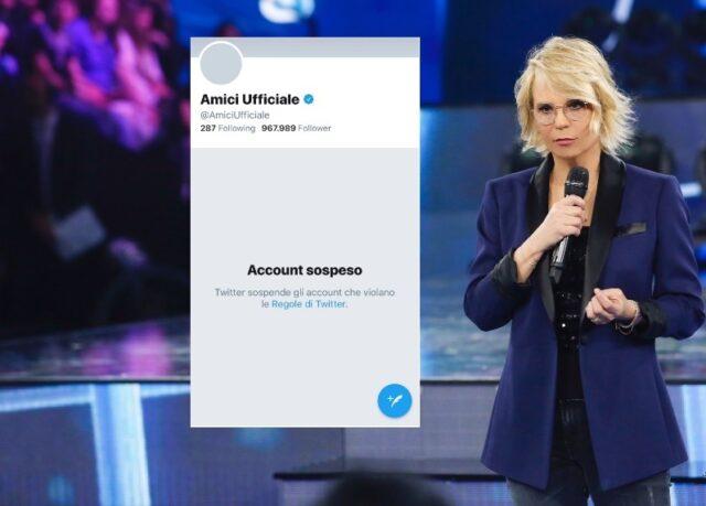 amici18-account-twitter-sospeso