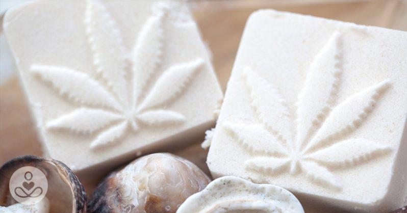bombe da bagno alla cannabis