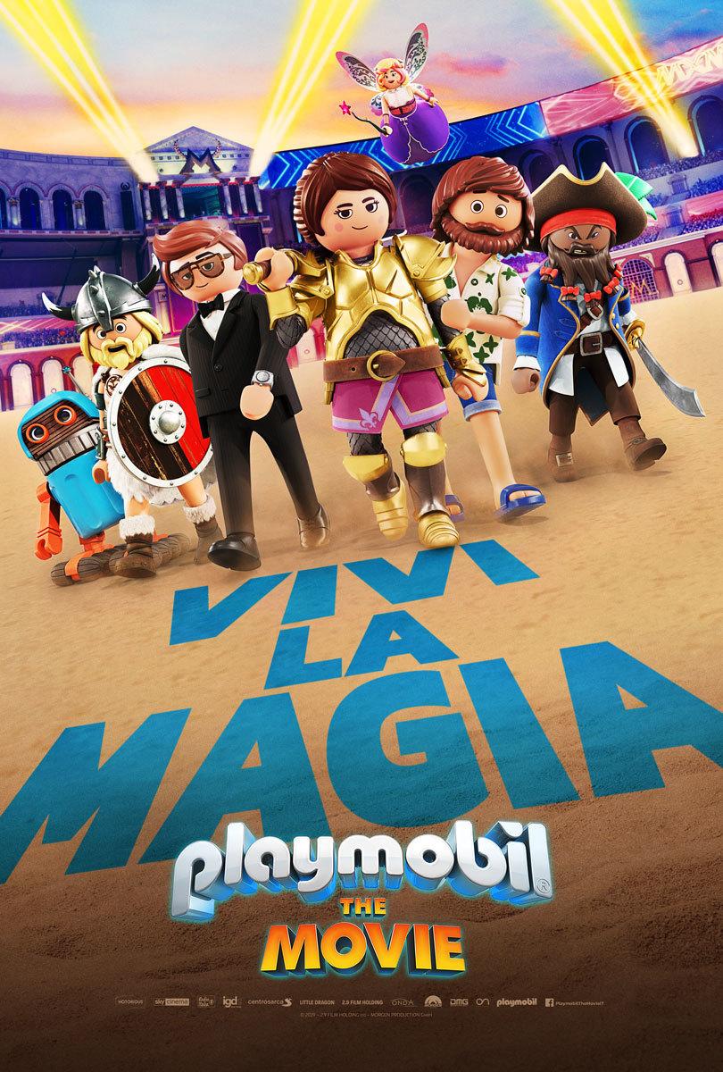 Playmobil: The Movie poster