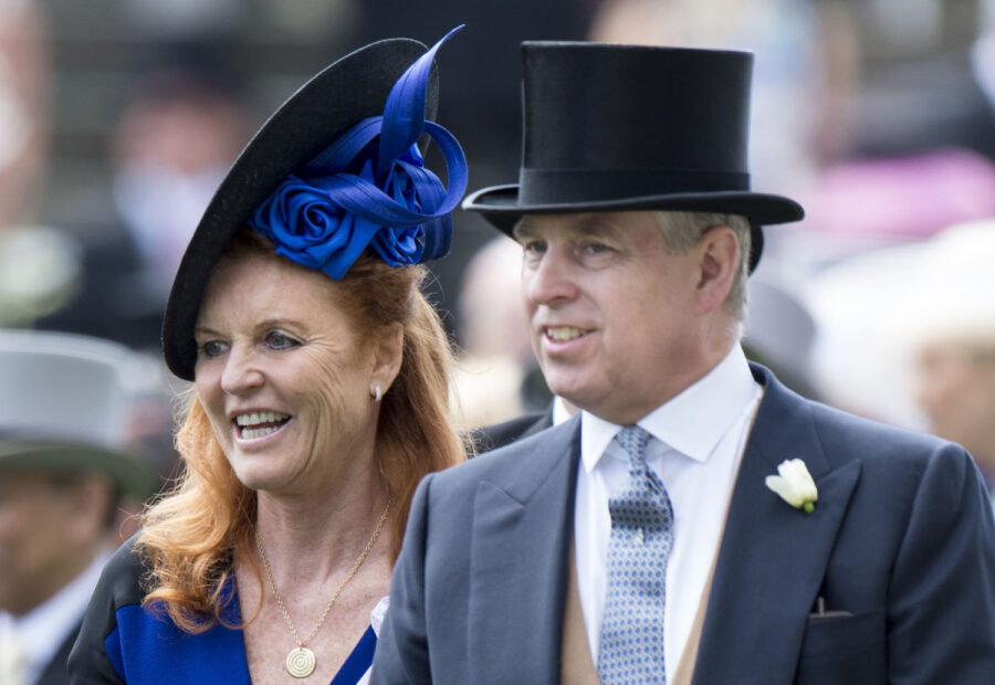 Sarah Ferguson e il principe Andrew
