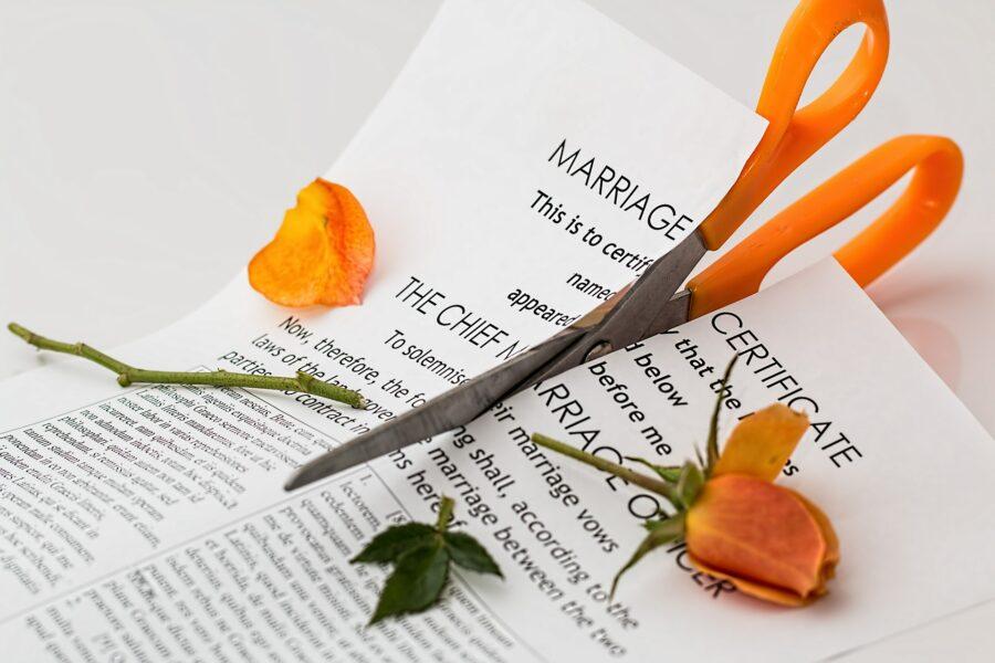 Come affrontare una separazione e un divorzio