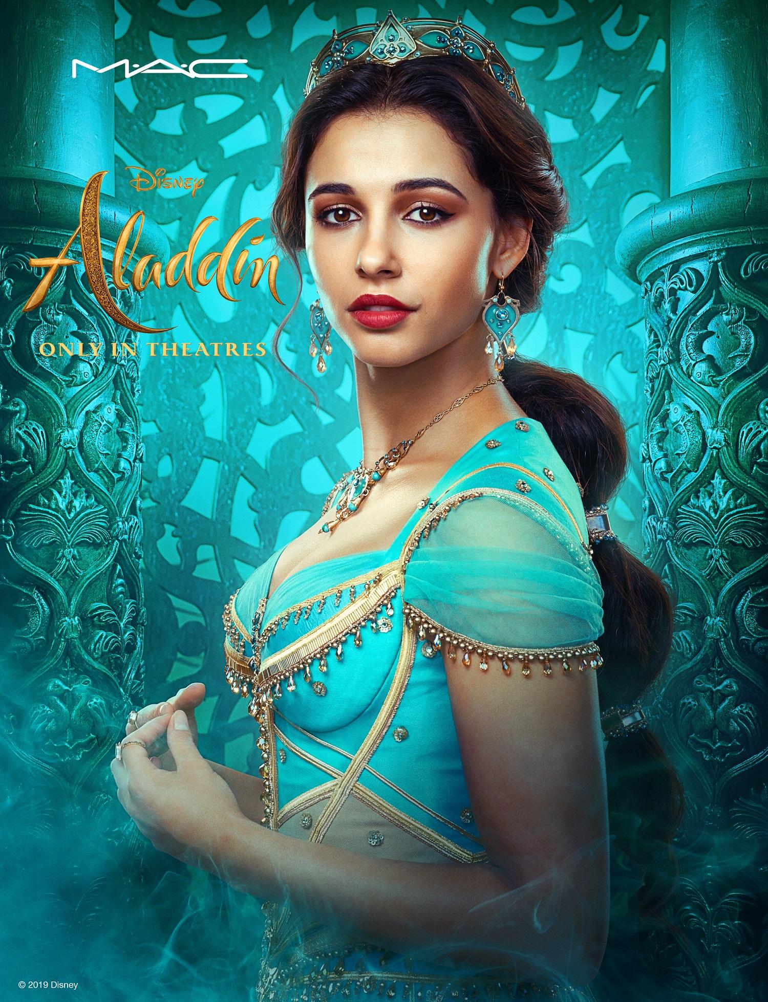 Aladdin film Disney, il make up dedicato