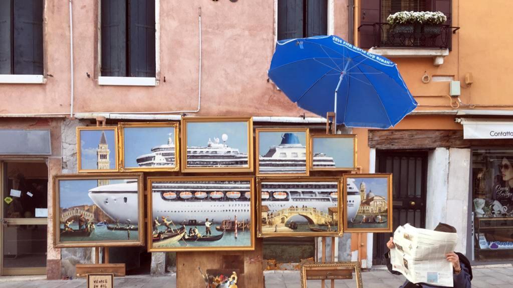 Banksy a Venezia