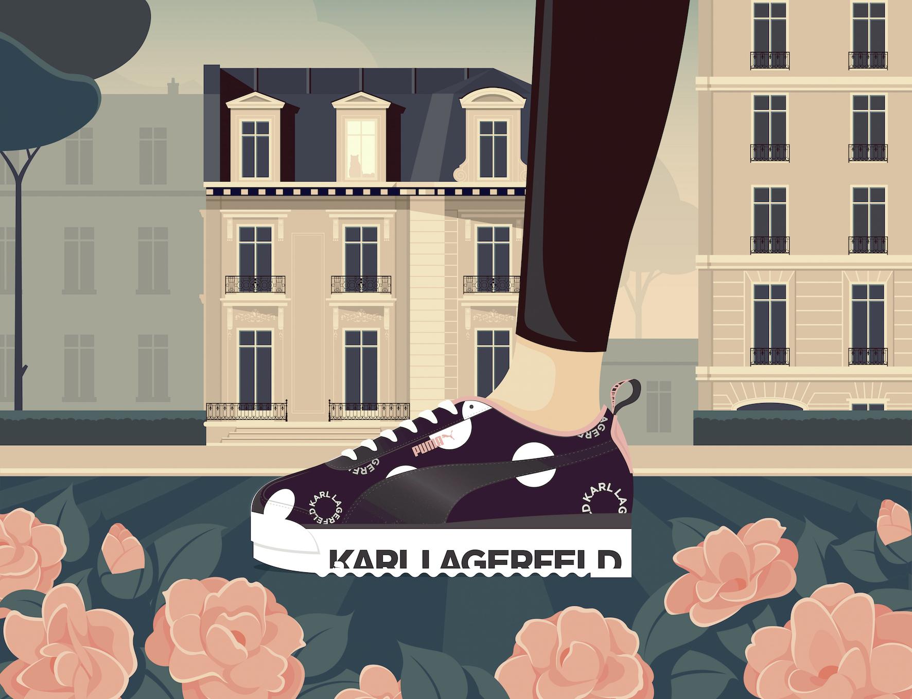 Sneakers primavera-estate 2019 Puma e Karl Lagerfeld