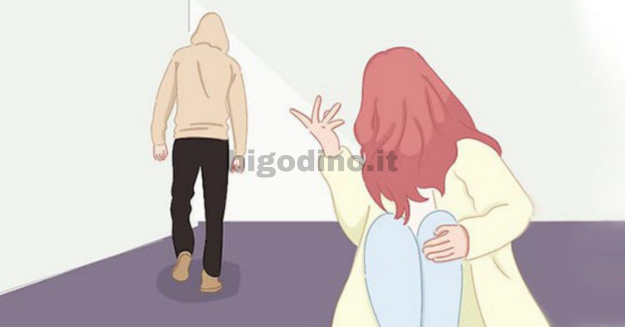 Abuso psicologico relazione di coppia