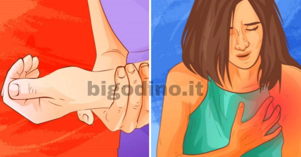 Coagulo di sangue, 6 sintomi