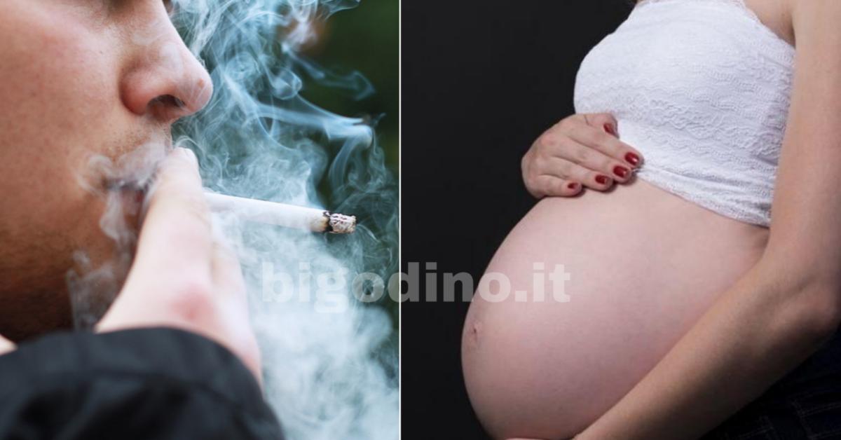Il papà fumatore danneggia il DNA del nascituro