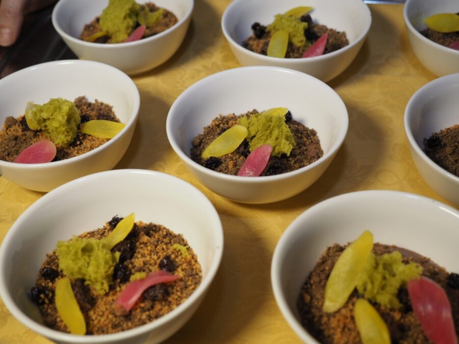 Dessert alCioccolato e asparagi, ricetta